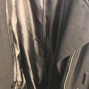 Plus Size, Black Michael Kors Coat